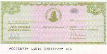 Zimbabwe 20000 Dollars Chiremba