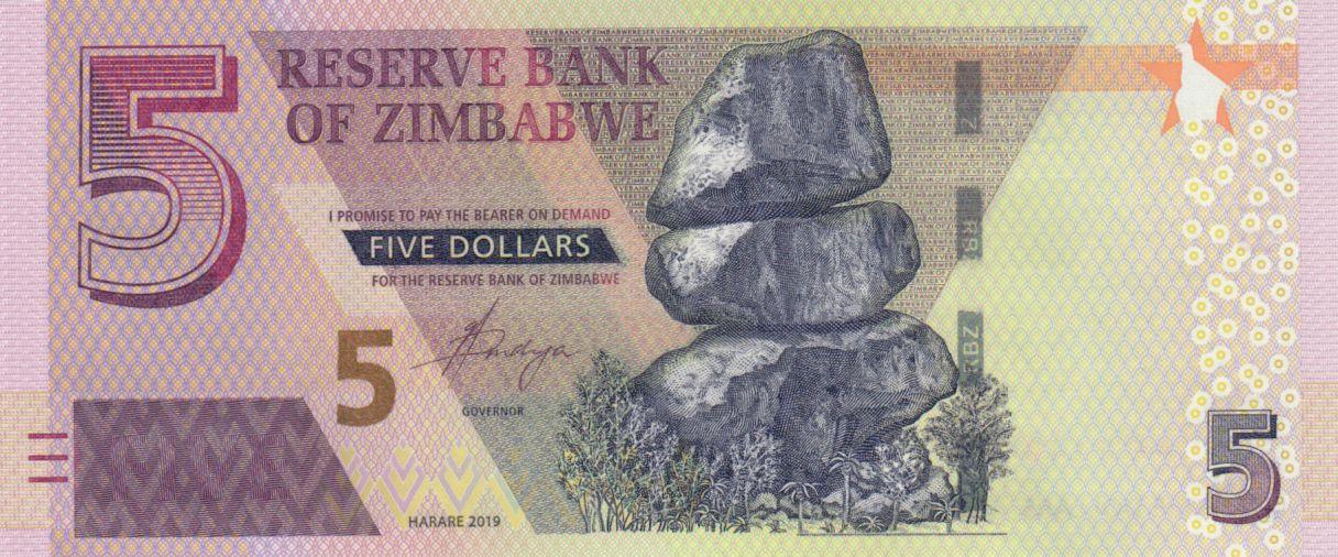 Zimbabwe 5 Dollars Chiremba - 2020 - Neuf