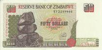 Zimbabwe 50 Dollars - Chiremba - Ruines - 1994