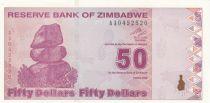 Zimbabwe 50 Dollars Chiremba - Factory - 2009
