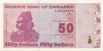 Zimbabwe 50 Dollars Chiremba - Factory