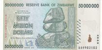 Zimbabwe 50 Million de $, Chiremba - Cow  - 2008