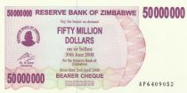 Zimbabwe 50 Million de $ de $, Eléphants