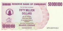 Zimbabwe 50 Million de $ de $, Eléphants