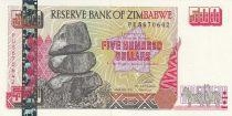 Zimbabwe 500 Dollars - Chiremba - Hwange power station - 2001
