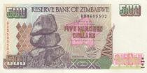 Zimbabwe 500 Dollars Chiremba - 2001