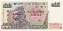 Zimbabwe 500 Dollars Chiremba - Hwange - 2001