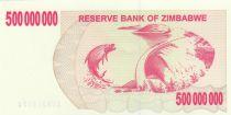 Zimbabwe 500 Million de $ de $, Poisson, barrage - 2008
