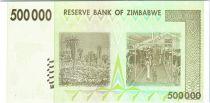 Zimbabwe 500000 Dollar Chiremba - Cows