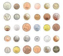 Zimbabwe Lot 30 monnaies de 30 pays différents - SPL