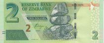 Zimbabwe Zimbabwe 2 Dollars Rocks - Palace 2016